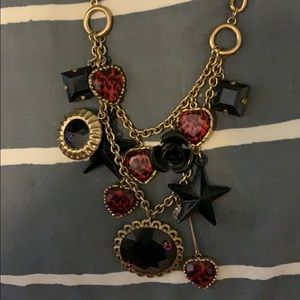 *~ Betsey Johnson heart and star necklace*~